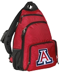 Arizona Wildcats Backpack Cross Body Style Red