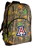 Arizona Wildcats Backpack REAL CAMO DESIGN