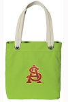 ASU Tote Bag RICH COTTON CANVAS Green