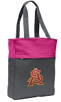 ASU Tote Bag Everyday Carryall Pink