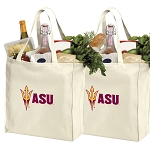 Arizona State Shopping Bags ASU Grocery Bags 2 PC SET