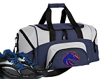 Boise State Small Duffle Bag Navy