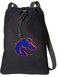 Boise State Cotton Drawstring Bag Backpacks