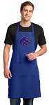 Boise State Large Apron Royal