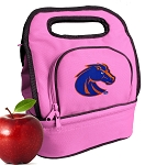 Boise State Lunch Bag Pink