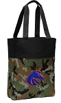 Boise State Tote Bag Everyday Carryall Camo