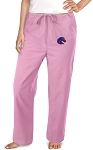 Boise State Pink Scrubs Pants Bottoms