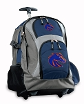 Boise State Rolling Backpack Navy