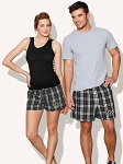 University of Central Florida Boxers Plaid