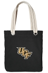 Central Florida Tote Bag RICH COTTON CANVAS Black
