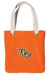 UCF Tote Bag RICH COTTON CANVAS Orange