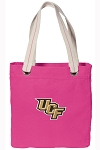 UCF Tote Bag RICH COTTON CANVAS Pink