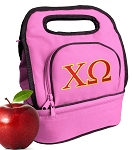 Chi O Lunch Bag Pink