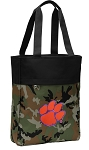 Clemson Tote Bag Everyday Carryall Camo