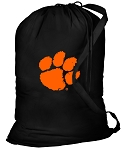 Clemson Laundry Bag Black