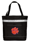 Clemson Insulated Tote Bag Black