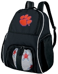 Clemson University Soccer Backpack or Clemson Tigers Volleyball Bag For Boys or Girls