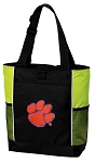 Clemson Tote Bag COOL LIME