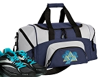 SMALL Tri Delt Gym Bag Tri Delt Sorority Duffle Navy