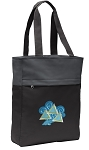 Tri Delt Tote Bag Everyday Carryall Black