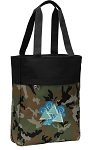 Tri Delt Tote Bag Everyday Carryall Camo