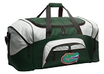 Large University of Florida Duffle Bag Green