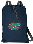 Florida Gators Cotton Drawstring Bag Backpacks Cool Navy