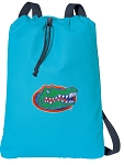 University of Florida Cotton Drawstring Bag Backpacks Blue
