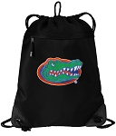 Florida Gators Drawstring Backpack-MESH & MICROFIBER