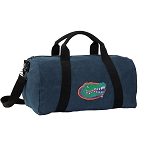 Florida Gators Duffel RICH COTTON Washed Finish Blue