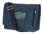 Florida Gators Messenger Bags STYLISH WASHED COTTON CANVAS Blue