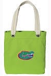 University of Florida Tote Bag RICH COTTON CANVAS Green