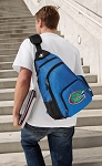 University of Florida Backpack Cross Body Style Blue