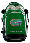 University of Florida Harrow Field Hockey Lacrosse Backpack Bag Green