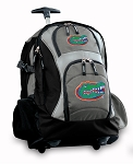 University of Florida Rolling Backpack Black Gray