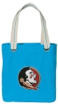 FSU Tote Bag RICH COTTON CANVAS Turquoise