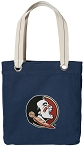 Florida State Tote Bag RICH COTTON CANVAS Navy