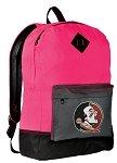 FSU Backpack HI VISIBILITY Florida State CLASSIC STYLE For Her Girls Women