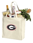 Georgia Bulldogs Shopping Bags Canvas
