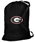Georgia Bulldogs Laundry Bag Black