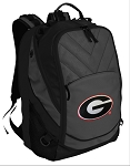 Georgia Bulldogs Deluxe Laptop Backpack Black