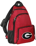 Georgia Bulldogs Backpack Cross Body Style Red