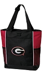 Georgia Bulldogs Tote Bag Red