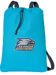 Georgia Southern Cotton Drawstring Bag Backpacks Blue