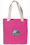 Georgia Southern Tote Bag RICH COTTON CANVAS Pink