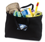 Georgia Southern Jumbo Tote Bag Black