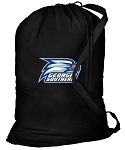 Georgia Southern Laundry Bag Black