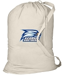Georgia Southern Laundry Bag Natural