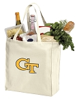 Georgia Tech Shopping Bags Canvas