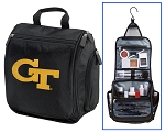 Georgia Tech Toiletry Bag or GT Yellow Jackets Shaving Kit Travel Organizer for Men